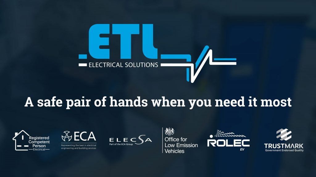 The ETL Electrical Solutions logo with certifications.